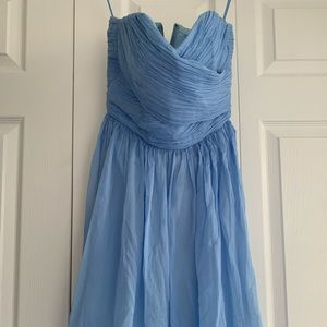 JCrew blue summer dress